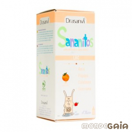 Drasanvi SANANITOS - LOMBRICES Y PARÁSITOS - CONCENTRADO PARA NIñOS 150 ml
